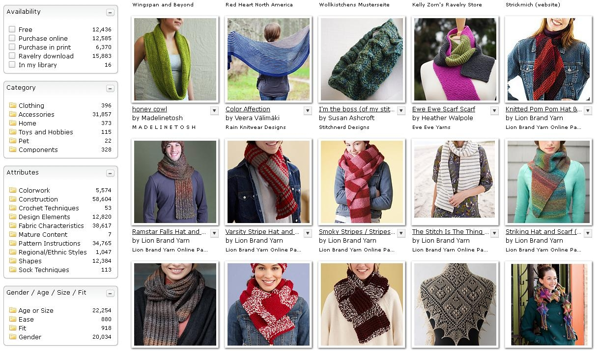 Ravelry free patterns