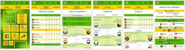 Mundial apps 2 (Alicia, junio 2014)