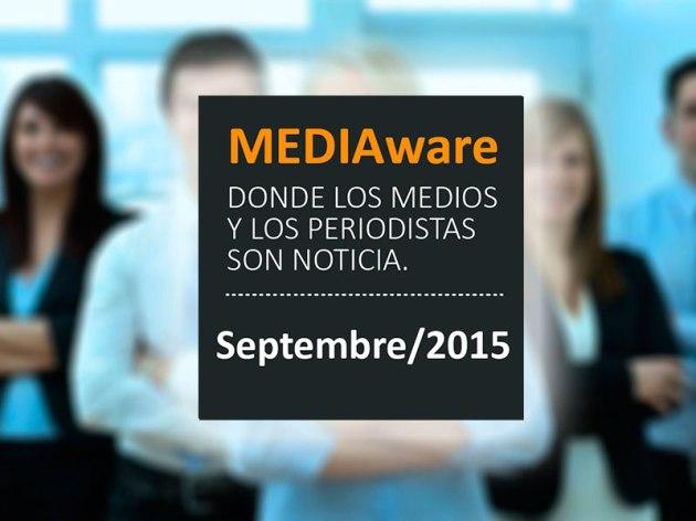 Novedades de los Medios y de Periodistas / Septembre 2015