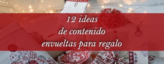 12 ideas regalo
