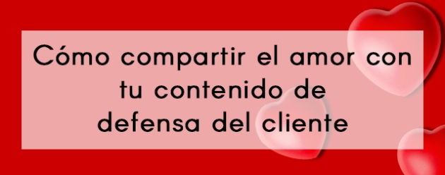 Comparta el amor_blog