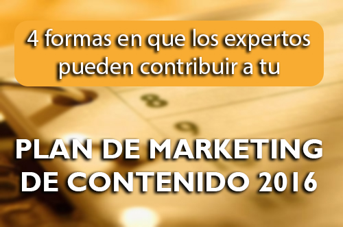 Plan de marketing de contenido