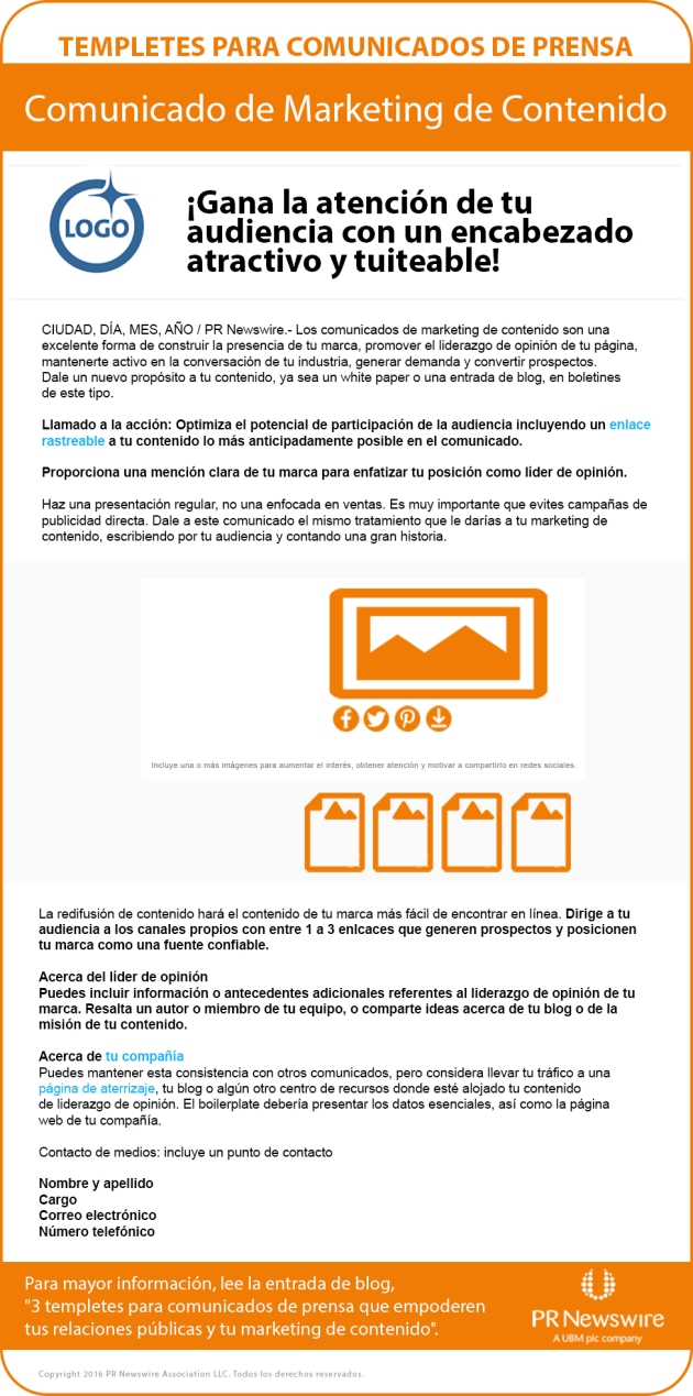 Templete comunicado marketing de contenido_blog