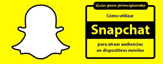 Snapchat para periodistas_blog